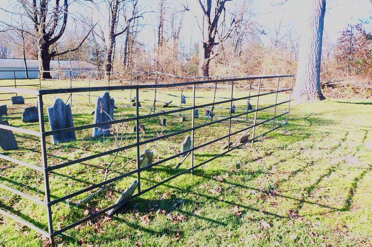 Roadside Graveyard, Hunterdon County, New Jersey