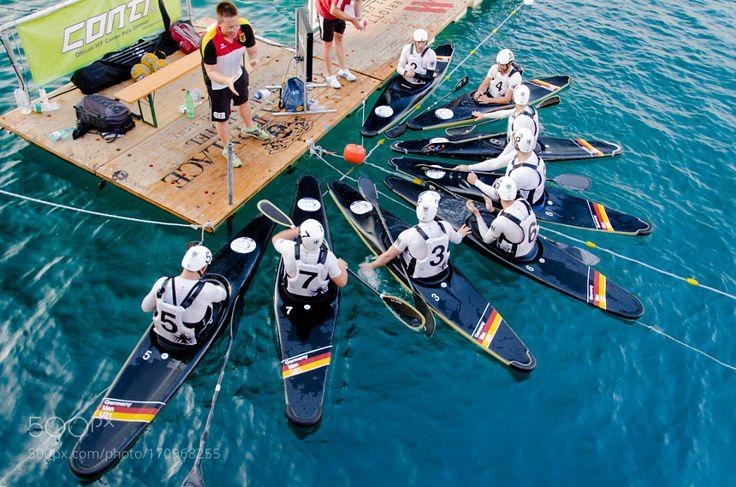 Canoe Polo by MaurizioFormati