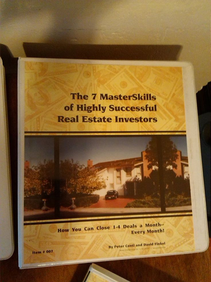 7 Master Skills of Highly Effective Real estate Investors 12 Casette Peter Conti