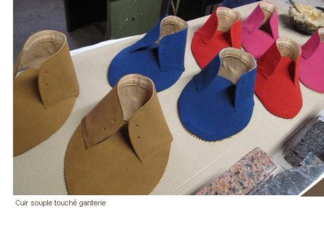 Fabrication de chaussures écologiques