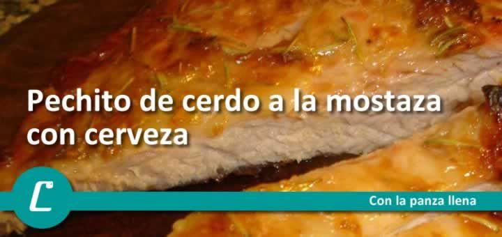 1 kilo Pechito de cerdo 1/2 kilo cebolla comun o morada 1 botella cerveza negra Mostaza para untar la carne 1 kilo Papas y batatas(condimentadas con aji molido, provenzal) Untar la carne de cerdo c…