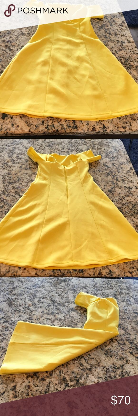 Girls Yellow Party Dress Size 0 ASOS Dresses Formal