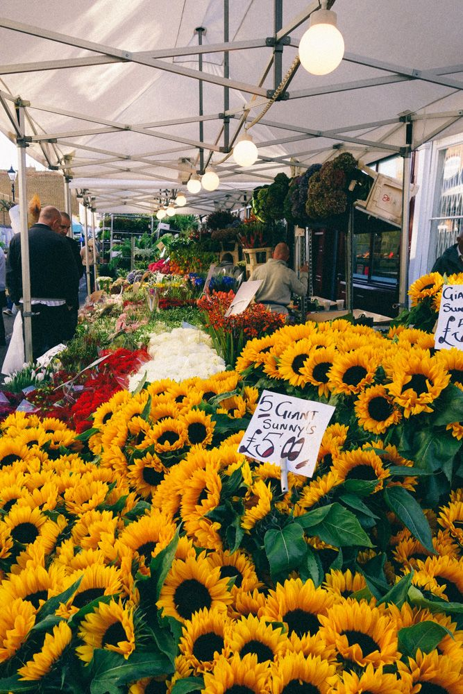 sundays only!! Columbia Road Flower Market - The Londoner