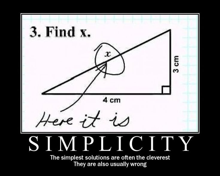 for the blondes: Math, Funny Things, Simplicity, Easy, Quote, Demotivational Posters, Giggles, Funny Stuff, Smile