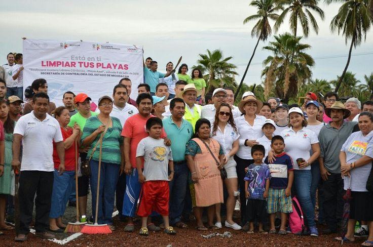 Ahora, se han conjuntado esfuerzos entre los tres órdenes de gobierno, la población de las comunidades costeras y organizaciones sociales para tener limpias las playas donde vendrán a desovar las ...