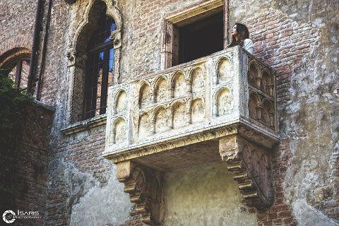 Dimitra @ Romeo And Juliets Balcony - Verona, italy.