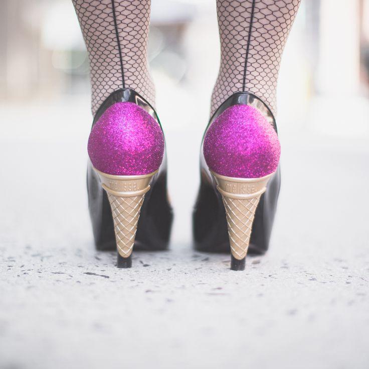 Um. Amazing! - Melissa x Karl Lagerfeld Ice-Cream Shoes