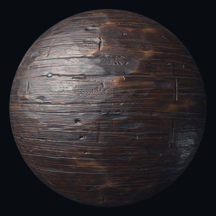 Old wood procedural texture, Quad Skill en 2020 Texturas