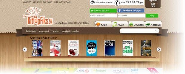 Yeni kitap mağazanız Kitapfiks hizmetinizde! | Digital Life Istanbul Web tasarımı Teknik servis Teknoloji Haber