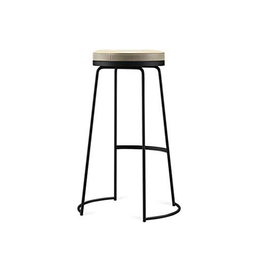 Jbbfqy Fh Modern Wrought Iron Bar Stool Kitchen Counter High