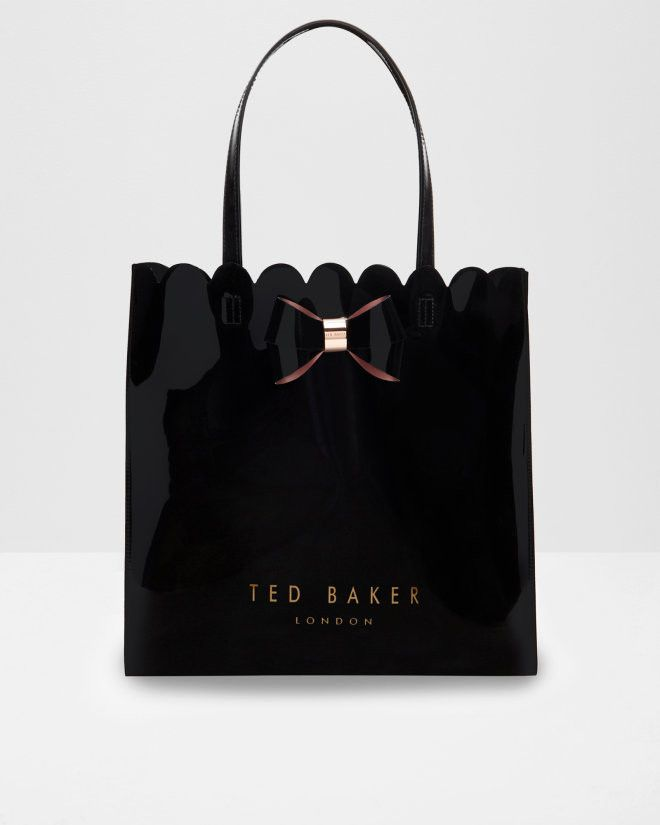 TED BAKER- SCALCON Scallop edge large shopper bag