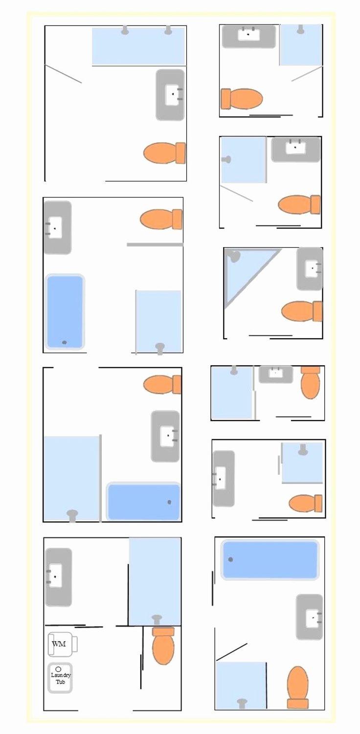 Remarkable 8X8 Bathroom Layout Images ... | Bathroom floor ...