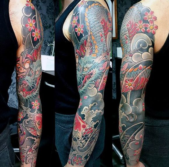 Top 121 Japanese Sleeve Tattoo Ideas 2020 Inspiration Guide In 2020 Japanese Sleeve Tattoos Sleeve Tattoos Japanese Tattoo
