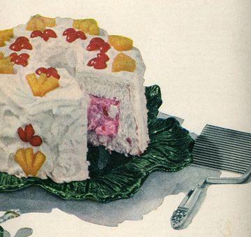 best retro cakes images vintage food retro food angel surprise cake