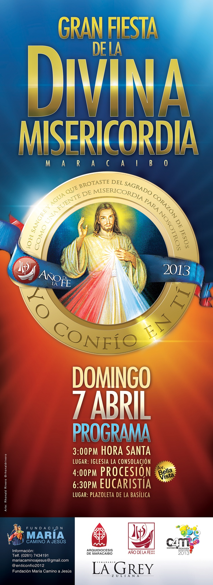 Gran Fiesta de la Divina Misericordia 2013 #Maracaibo