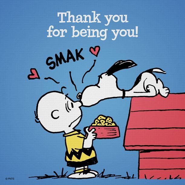 Obrigado por ser você!