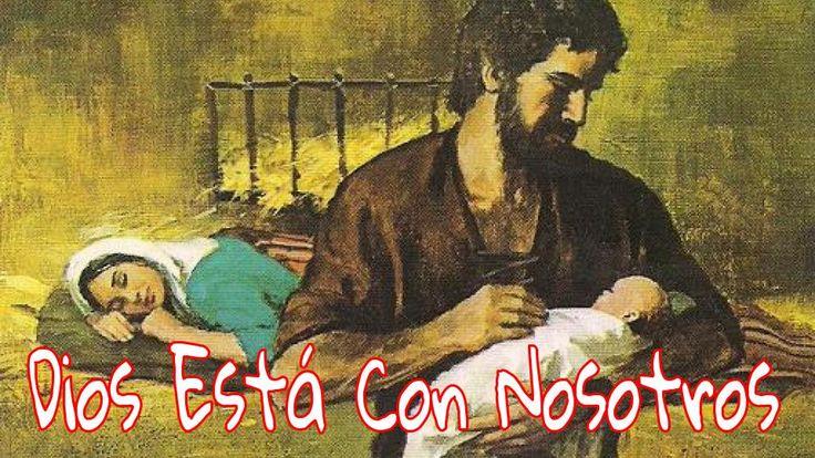 La virgen concebirá y dará a luz un hijo, y lo llamarán Emanuel» (que significa «Dios con nosotros»). Mateo 1:23