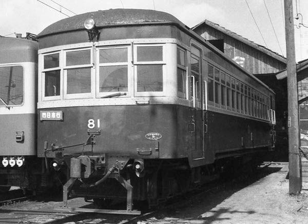 三岐鉄道1961年