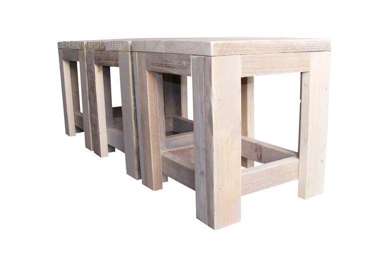 """Krukje Anton   Leuk krukje wat je er makkelijk even bijpakt en zo weer hebt opgeruimt. Deze is ook te gebruiken als bijzet tafeltje.lxbxh 39x39x43cm Voor """"Anton"""" telt: 6 halen 5 betalen!  http://www.bbmeubelen.nl/a-35805627/stoelen/anton/"""