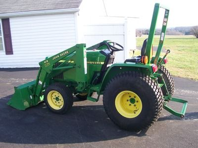 2004 John Deere 790 4x4 Diesel & 419 Load For Sale