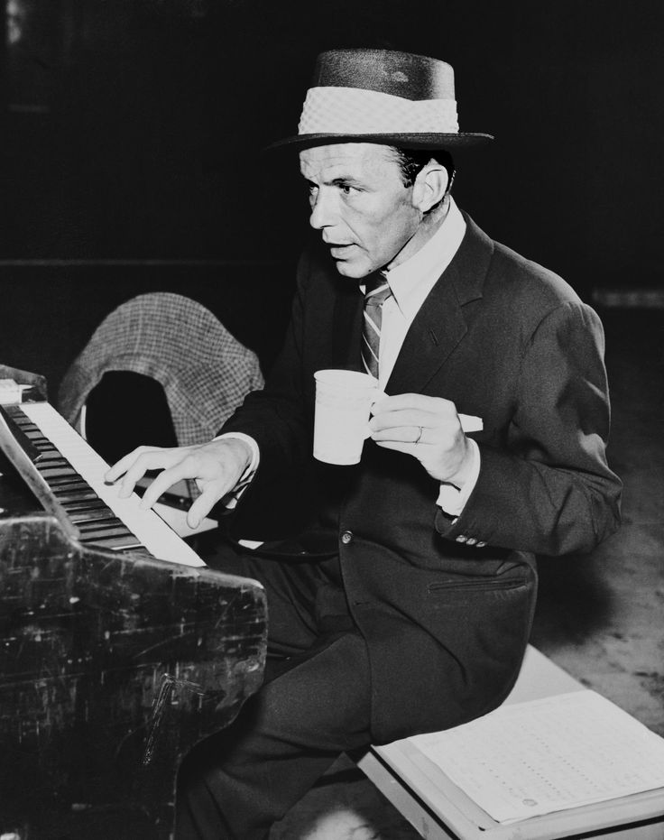 20 Photos of Frank Sinatra Looking Cool, Drinking Coffee