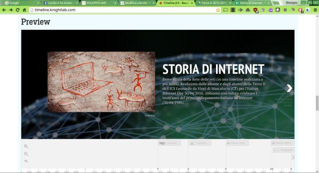 """Una timeline a più mani per una """"Breve storia di Internet""""   Insegnanti 2.0"""