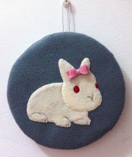 Coisinhas da Flafy: Quadro Coelha