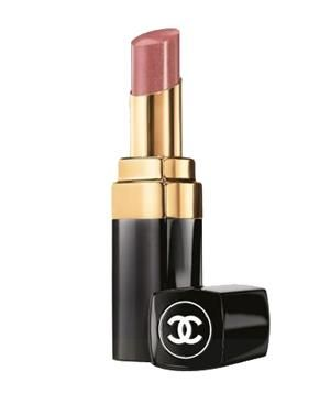 Chanel Rouge Coco Shine in Boy: The fine flecks of golden shimmer in the formula give the illusion of fuller lips.