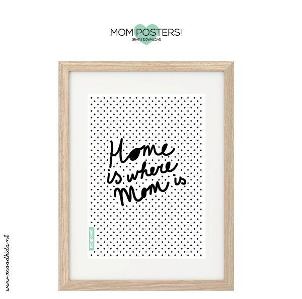 DIY Posters à imprimer pour Super Maman | Le Meilleur du DIY