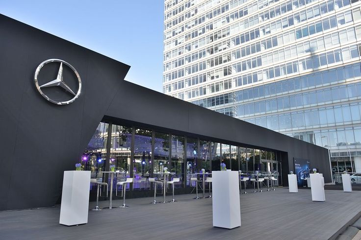 2014 Mercedes-Benz C Series Presentation | Exhibition Tent | Flat Tent | ThermoTent | Inflate Tent