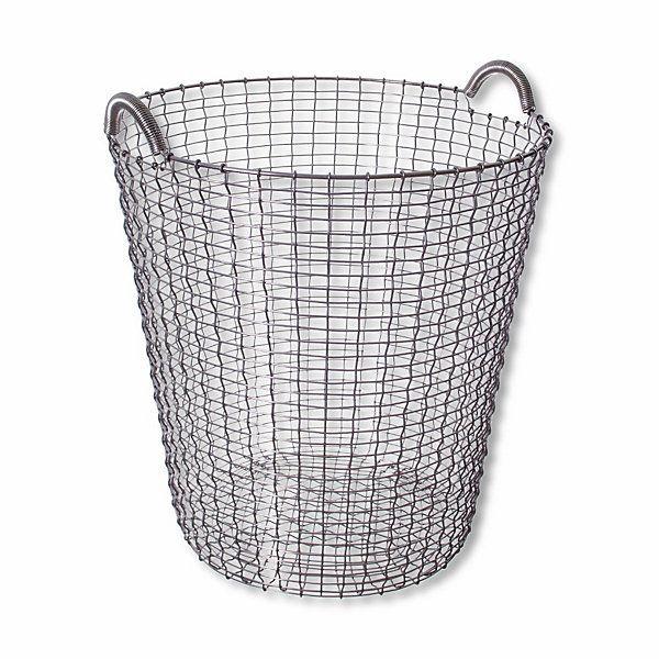 Robuste, handgefertigte Stahlkörbe aus Schweden. Ursprünglich genutzt als Fischereibedarf und für den Gartenbau, sind diese... - Metallkörbe Korbo