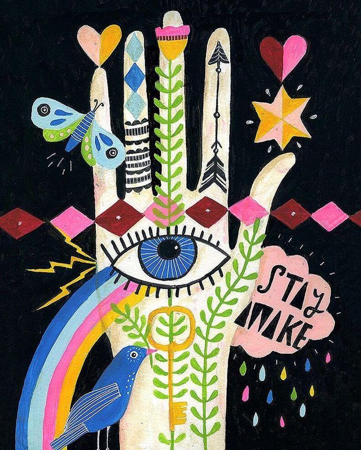 Stay awake - Use your vote ✏️ Illustration @lisacongdon