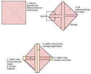 Cocoo -kofta mönster diagram cocoon shawl shrug cardigan