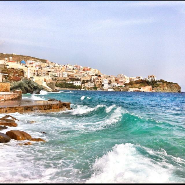 View of Vaporia @ Hermoupolis town, Syros island.
