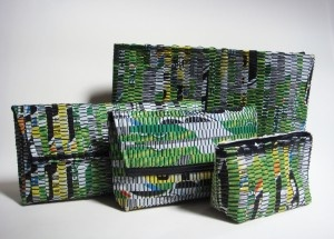 Sheila Odessey: plastic bags into trandy bags   torekli foliowe na torby trendowe