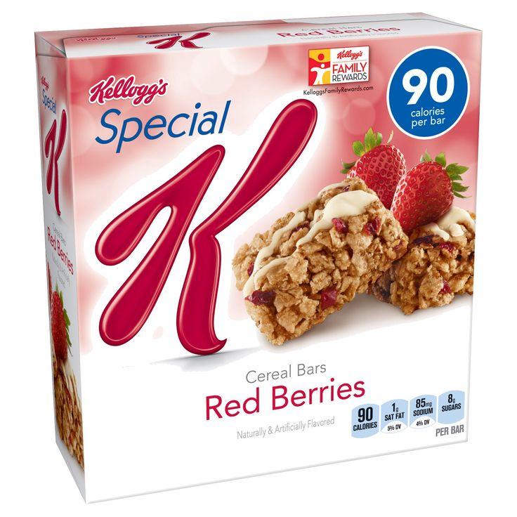 Kellogg's Special K Red Berries Cereal Bars - 6pk