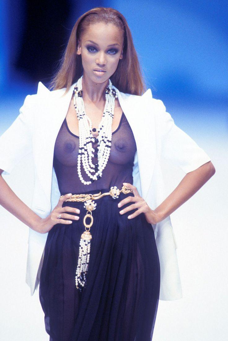 a young tyra banks | fav fashion | Pinterest