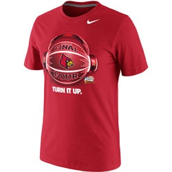Louisville Cardinals Nike Youth 2013 NCAA Basketball Final Four Bound Glow  Ball T-Shirt -