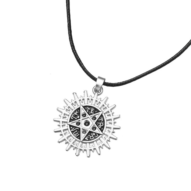 Black Butler Anime Sebastian's Pentacle Pentagram Symbol Logo Pendant Necklace //Price: $10.00  ✔Free Shipping Worldwide   Tag your friends who would want this!   Insta :- @fandomexpressofficial  fb: fandomexpresscom  twitter : fandomexpress_  #shopping #fandomexpress #fandom