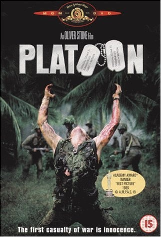an analysis of the film platoon by oliver stone Platoon is a triumph for oliver stone, a film in which a visceral approach to  violence, which has always set him apart, is balanced by classical.