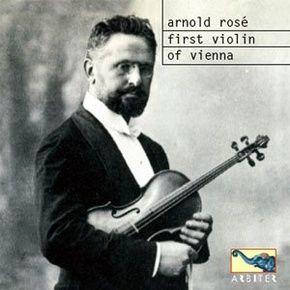 Free Music Archive: Arnold Rosé - Sarasate, Spanish Dance