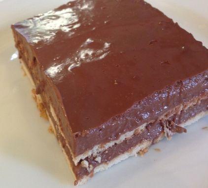 Σοκολατένιο γλυκό με μπισκότα πτι μπερ - gourmed.gr