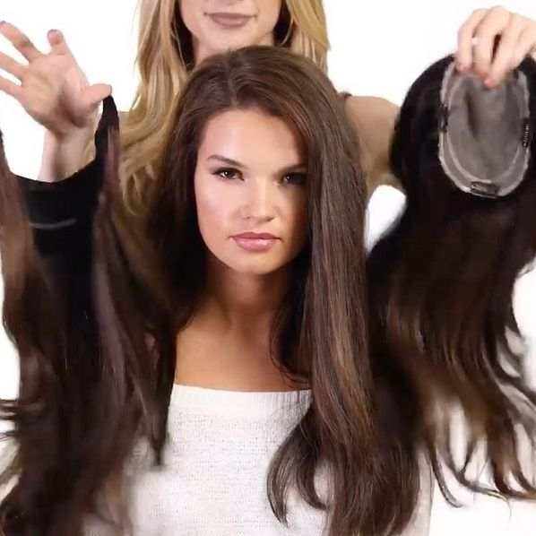 Best Hair Toppers For Women With Thinning Hair Or Hair