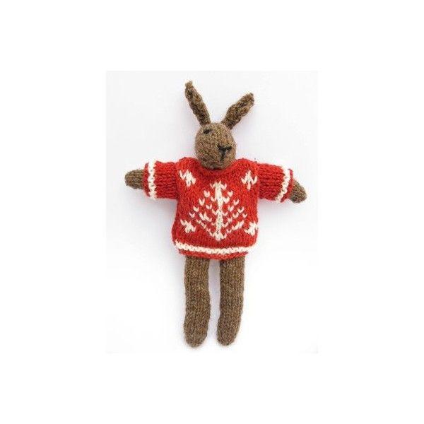Lapin à tricoter HAMISH - CREAKIT Loisirs Créatifs