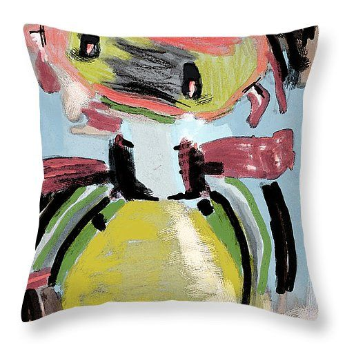 Pillow with my drawing