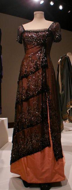 Deborah L. Scott Rose Dinner Gown