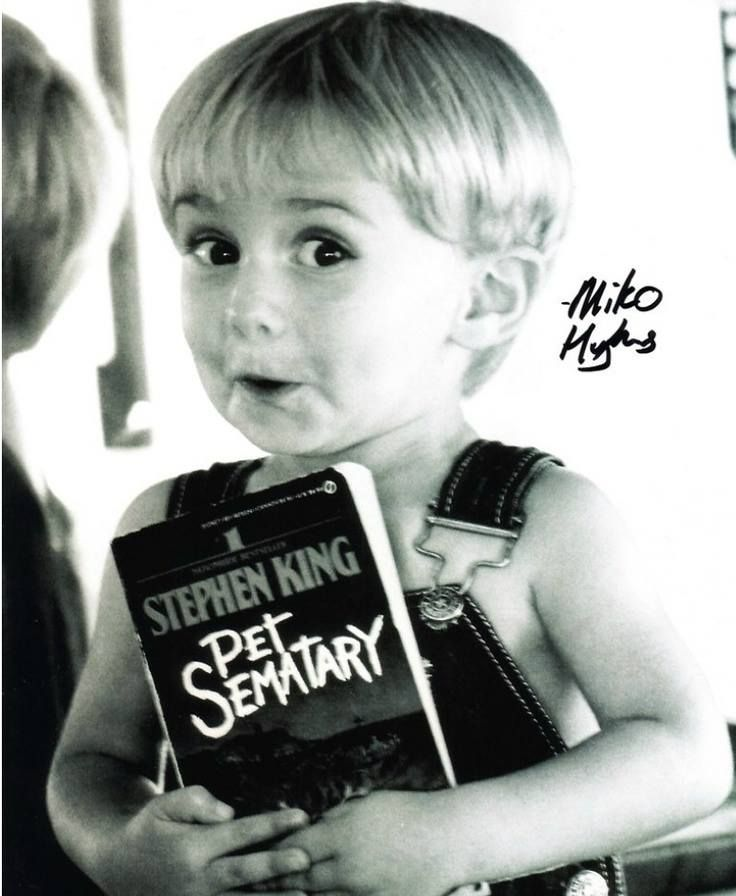 Miko Hughes as Gage Creed Stephen king movies, Stephen