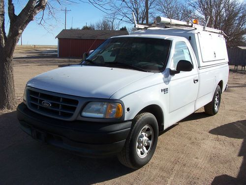 Purchase used 2000 Ford F150 Utility Truck, HD 7700 GVW, 5.4 ...