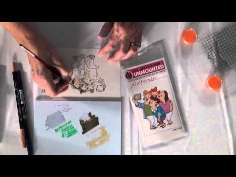 Tip of the Day: Watercolor Tips from Art Impressions - YouTube