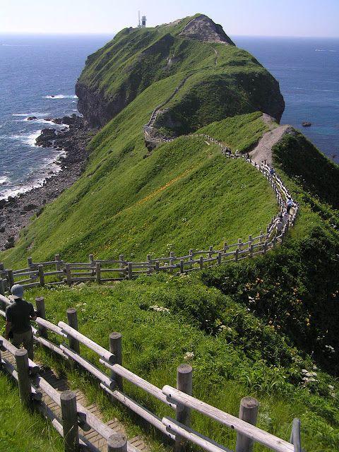 Cape Kamui, Shakotan #Hokkaido #japan  Travel Japan multicityworldtravel.com